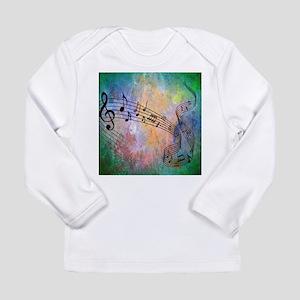 Abstract Music Long Sleeve T-Shirt