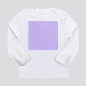 girly modern lilac purple Long Sleeve T-Shirt