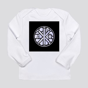 Alpha Omega Glass Window Long Sleeve T-Shirt