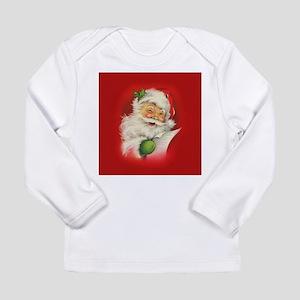 Vintage Christmas Santa Claus Long Sleeve T-Shirt