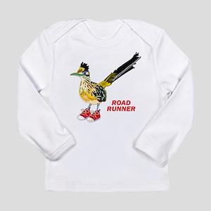 Road Runner in Sneakers Long Sleeve T-Shirt