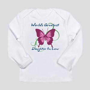 World's Greatest Daughter-In- Long Sleeve T-Shirt