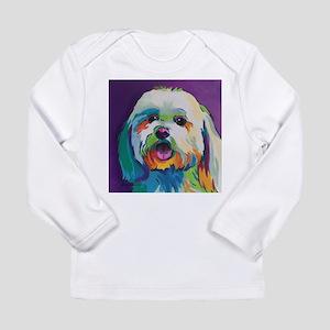 Dash the Pop Art Dog Long Sleeve T-Shirt