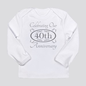 40th Wedding Anniversary Long Sleeve T-Shirt
