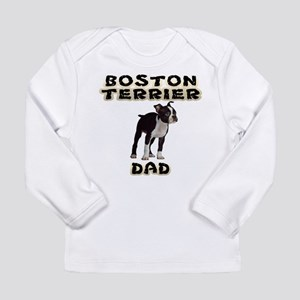 Boston Terrier Dad Long Sleeve T-Shirt