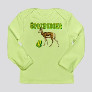 Springboks Rugby Long Sleeve Infant T-Shirt