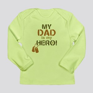 Dog Tag Hero Dad Long Sleeve Infant T-Shirt
