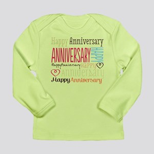 Modern Stylish Annivers Long Sleeve Infant T-Shirt