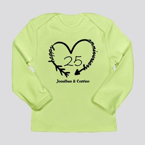 Custom Anniversary Dood Long Sleeve Infant T-Shirt