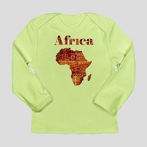 Ethnic Africa Long Sleeve Infant T-Shirt