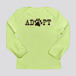 Adopt an Animal Long Sleeve Infant T-Shirt