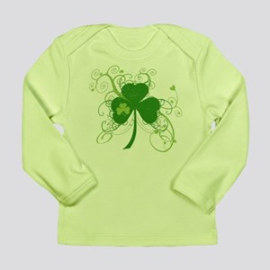 St Paddys Day Fancy Sha Long Sleeve Infant T-Shirt