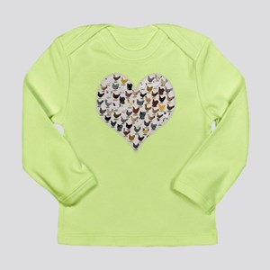 Chicken Heart Long Sleeve T-Shirt