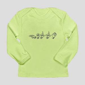 Hello: Long Sleeve Infant T-Shirt