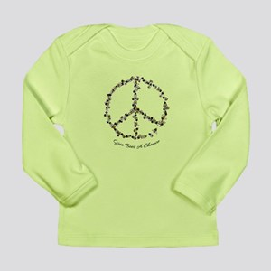Give Bees A Chance Long Sleeve Infant T-Shirt