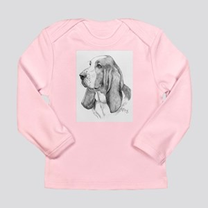 Basset Hound Long Sleeve Infant T-Shirt