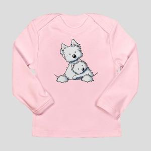 Westie Hug Long Sleeve Infant T-Shirt