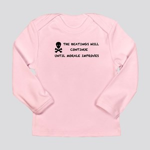 Pirate Long Sleeve Infant T-Shirt