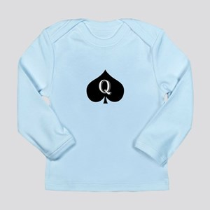 Queen of spades Long Sleeve Infant T-Shirt