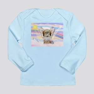 Angel Shih Tzu in Clouds Long Sleeve Infant T-Shir