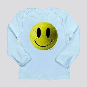 volleyball smiley Long Sleeve Infant T-Shirt