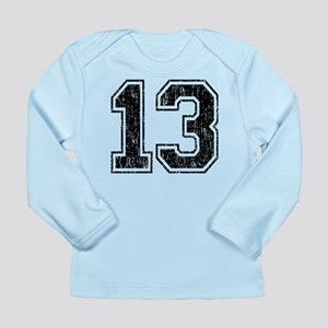 Retro 13 Number Long Sleeve Infant T-Shirt