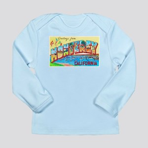Monterey California Greetings Long Sleeve Infant T