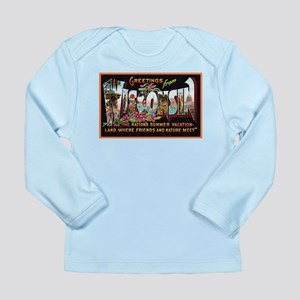 Wisconsin Greetings Long Sleeve Infant T-Shirt