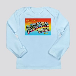 Asbury Park New Jersey Long Sleeve Infant T-Shirt