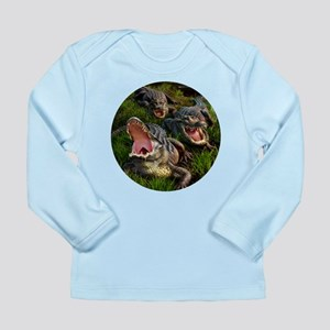 Alligators Long Sleeve Infant T-Shirt