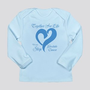 Stop Prostate Cancer Long Sleeve Infant T-Shirt