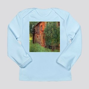 Klimt Farmhouse in Chamber in Attersee Long Sleeve