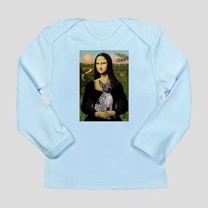 MonaLisa - AmHairless T. Long Sleeve Infant T-Shir