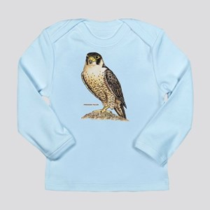 Peregrine Falcon Bird Long Sleeve Infant T-Shirt