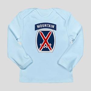 10th Mountain Long Sleeve Infant T-Shirt