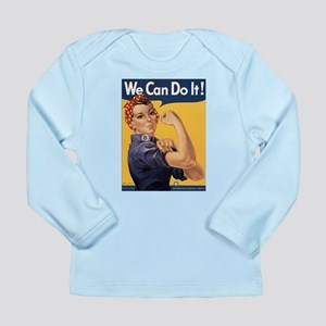 Rosie the Riveter We Can Do It Long Sleeve Infant