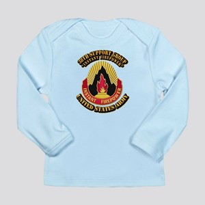 38th Support Group with Text Long Sleeve Infant T-