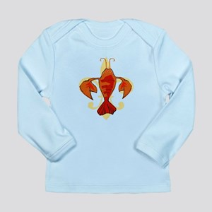Fleur De Craw Too Long Sleeve Infant T-Shirt
