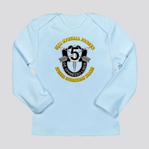 5th Special Forces - DU Long Sleeve Infant T-Shirt