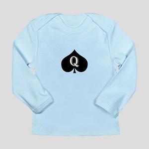 Queen of spades Long Sleeve Infant T-Shirt