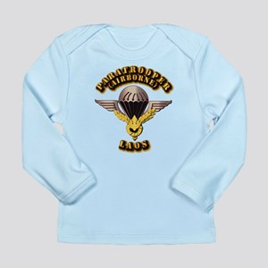 Airborne - Laos Long Sleeve Infant T-Shirt