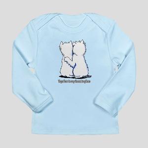 Hugging Westies Long Sleeve Infant T-Shirt
