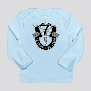 7th Special Forces - DU Long Sleeve Infant T-Shirt
