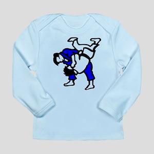 Judo Long Sleeve Infant T-Shirt