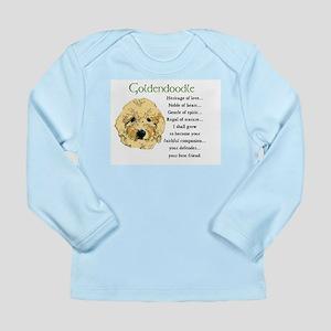 Goldendoodle Long Sleeve Infant T-Shirt