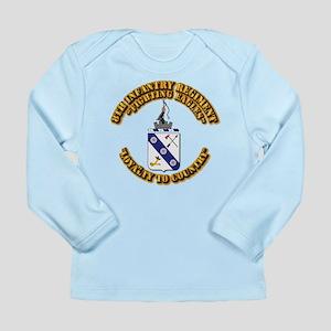 COA - 8th Infantry Regi Long Sleeve Infant T-Shirt