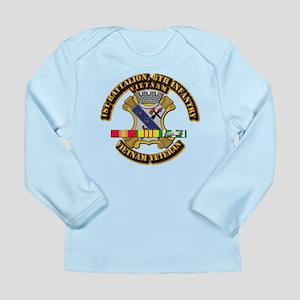 1st Battalion, 6th Infantry Long Sleeve Infant T-S