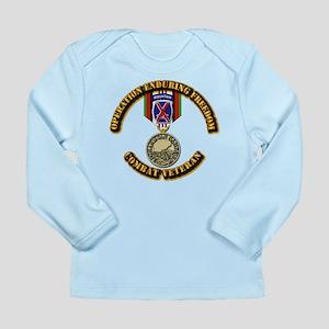 Operation Enduring Free Long Sleeve Infant T-Shirt