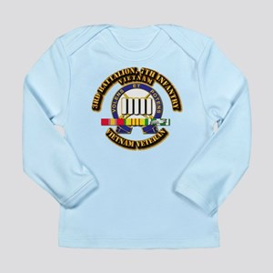 3rd Battalion, 7th Infantry Long Sleeve Infant T-S