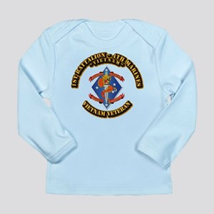 1st Bn - 4th Marines Long Sleeve Infant T-Shirt